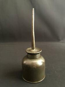 OIL CAN OILER STEAM ENGINE TRACTOR MOTORCYCLE BICYCLE PUSH BOTTOM