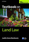 Textbook on Land Law by Judith-Anne MacKenzie (Paperback, 2016)