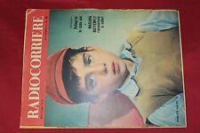 rivista RADIO CORRIERE 1956 numero 13 PABLITO CALVO