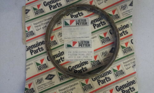 New Lister CS Piston Ring Set 8/1 etc 0.040 oversize for Chrome Bores 574-10980