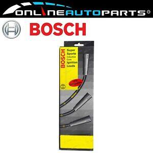 Bosch-Ignition-Spark-Plug-Lead-Set-Mitsubishi-Triton-MK-2-4L-4G64-4cyl-1996-2003