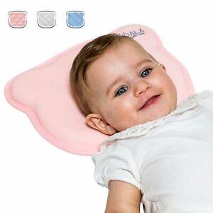 Cuscino per Neonato per Prevenire la Plagiocefalia, Koala Babycare, Rosa