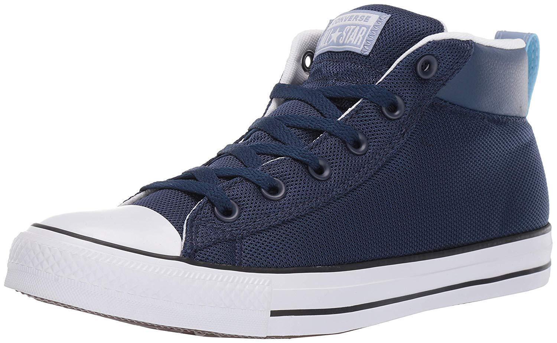 43d458dc5fcd7 Converse Men s Unisex Chuck Taylor All Star Street Street Street Leather  Mid Top Sneaker 6265d7 ...