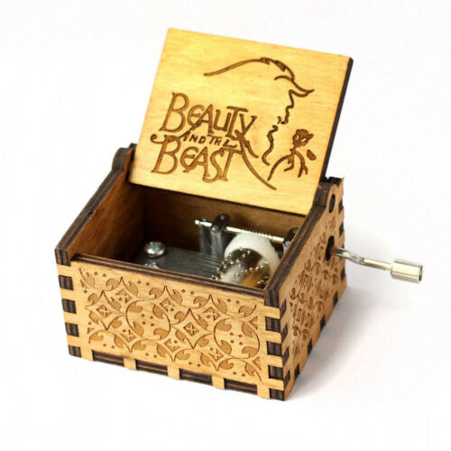 Music Box Wooden Engraved Potter Harry Toys Gifts Game Thrones Kids Hand Star Wa