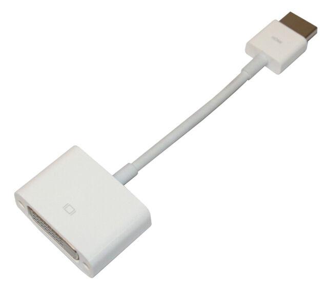MJVU2AM//A Brand New Genuine Apple HDMI to DVI Adapter White