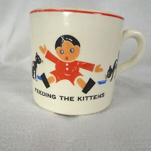 Edwin-Knowles-China-Childs-Mug-Feeding-the-Kittens-1930s-Union-Made-USA