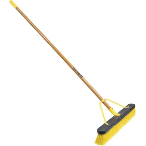 Multi-Surface Push Broom with Scraper 857SUS Quickie JobSite 24 In 1 Each
