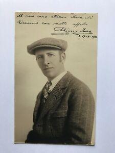 Autogramm IMRE SCHÖFFER (†1938)-Trainer Verona/Brescia/Torino-Ungarn/Italien-AK
