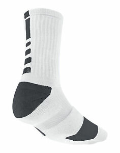 cdbe9b6975a Buy Nike Elite Basketball Cushioned Customized Socks, Size L - White ...