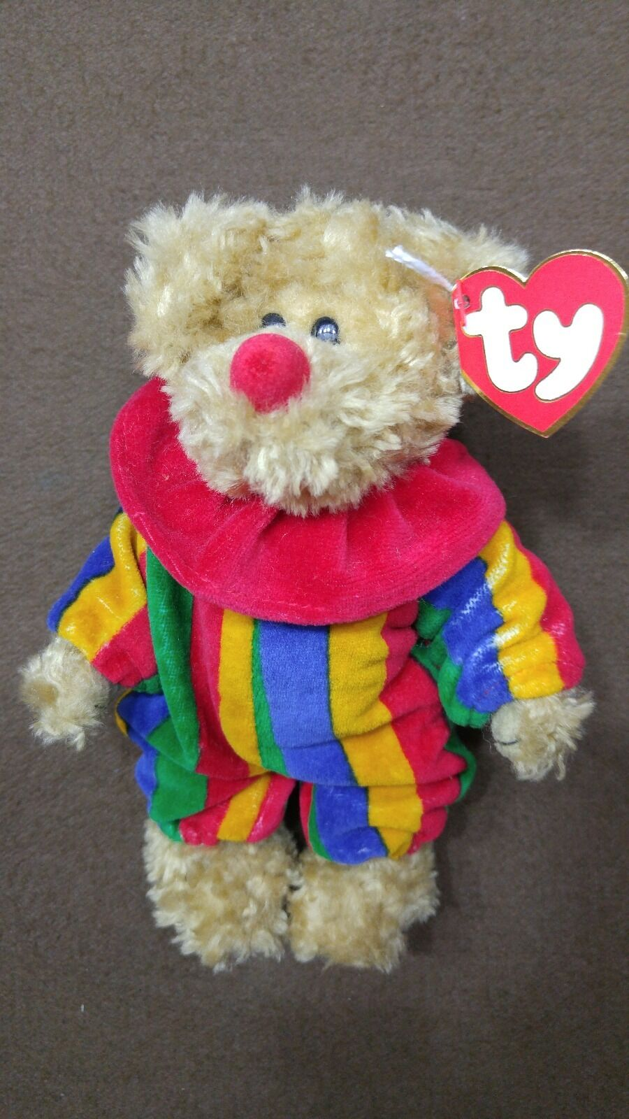 Ty Ty Ty Piccadilly 8  Clown Bear Attic Treasures Collection 9be92c