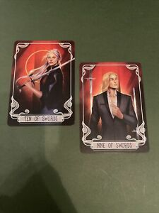 Fairyloot Crescent City Tarot Cards Aidas & Danika