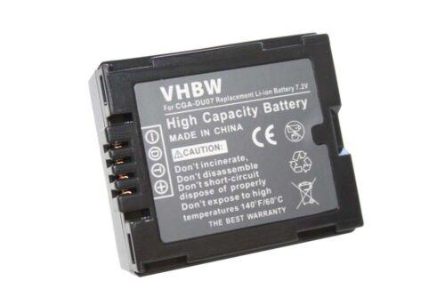 Original VHBW ® BATERIA para Panasonic nv-gs60 gs60eg-s