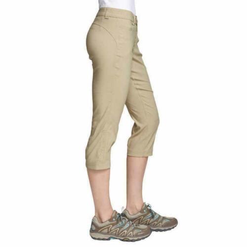 VARIETY NEW Eddie Bauer Women/'s Rainier Capri Pants