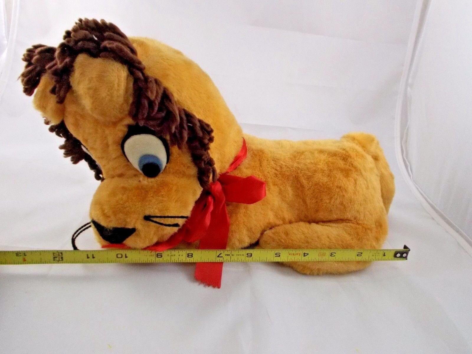 Vintage Lion Lion Lion Plush 12