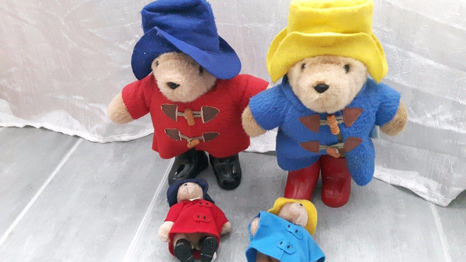 Paddington Bear Eden Toys collection rare with boots vintage