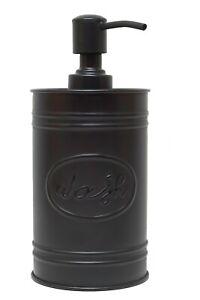 Autumn Alley Farmhouse Black Soap Dispenser - Farmhouse Bathroom Decor