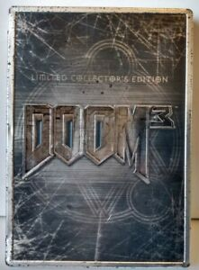 Doom-3-Steelbook-Limited-Collector-039-s-Edition-Original-XBox-With-Manual