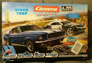 Carrera 63504 Speed Trap Battery Operated 1:43 Scale Slot Racing Track & Jump