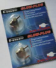 RC Nitro Glow Plug HSP number N3 Hot x2