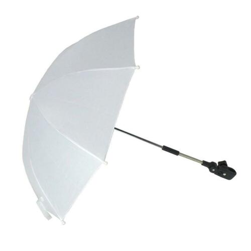 Baby Pram Umbrella Parasol Sunshade for Stroller and Pushchair with Fixing Clamp