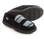 Mukluks Henry Slippers Black Marl Black Stripe Large Mens 12-13 House Shoes