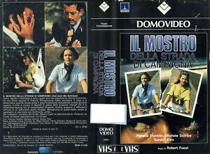 IL-MOSTRO-DELLA-STRADA-DI-CAMPAGNA-1972-RARISSIMA-VHS-ORIGINALE-DOMOVIDEO-OTTIMA