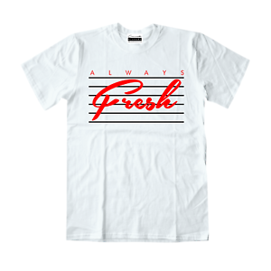 807caa2792f5a3 Always Fresh T-Shirt To Match Retro Jordans 3 Katrina NRG Tinker 11 ...