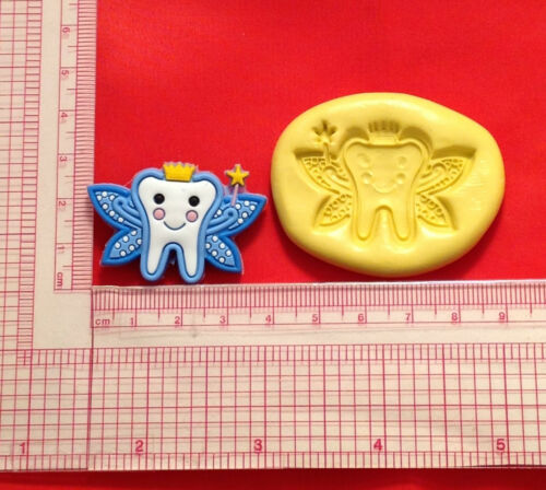 Tooth Fairy Silicone Push Mold A831 Candy Chocolate Fondant Soap Fimo Resin
