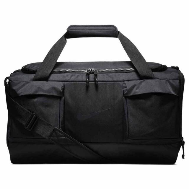 Nike Vapor Power Mens Medium Duffel Bag Black Size 54 Litre School Gym Training