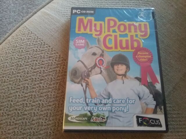 My Pony Club (PC, 2006) - European Version new and sealed freepost