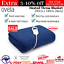 thumbnail 1 - Electric Heated Throw Blanket Indoor Outdoor Winter Plush Washable Rug 200x180cm