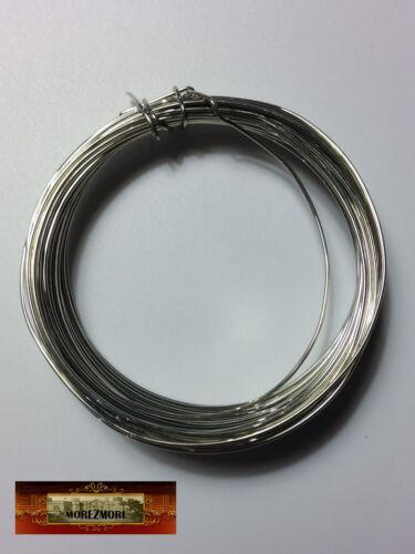 M00866 MOREZMORE Fun Wire 20 GA SILVER Plated Craft Copper Metal Wings