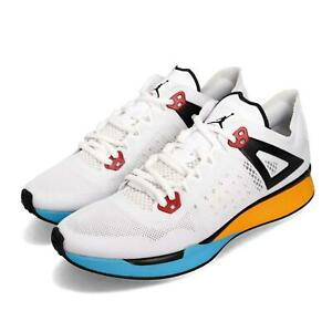 promo code 8f98e 6e844 Image is loading Nike-Jordan-89-Racer-White-Black-Blue-Yellow-