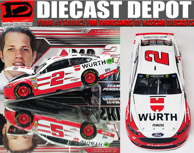 BRAD KESELOWSKI 2018 WURTH 1 24 SCALE  ACTION COLLECTOR SERIES NASCAR DIECAST
