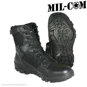 Mil-Com Patrol Bottes Noir SChZoZ2