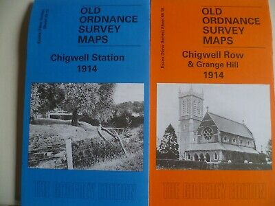Old Ordnance Survey Detailed Maps Wickford  Essex 1919 Godfrey Edition New