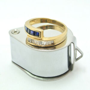 0-50ct-Diamond-and-0-50ct-Blue-Sapphire-Ring-18k-Yellow-Gold