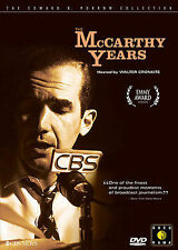 The McCarthy Years- EDWARD R. MURROW (DVD, 2005)HOSTED BY WALTER CRONKITE