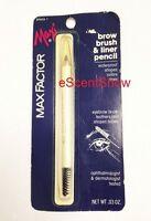 Max Factor Brow Brush & Liner Eyebrow Eyeliner Eye Pencil - Choose Color