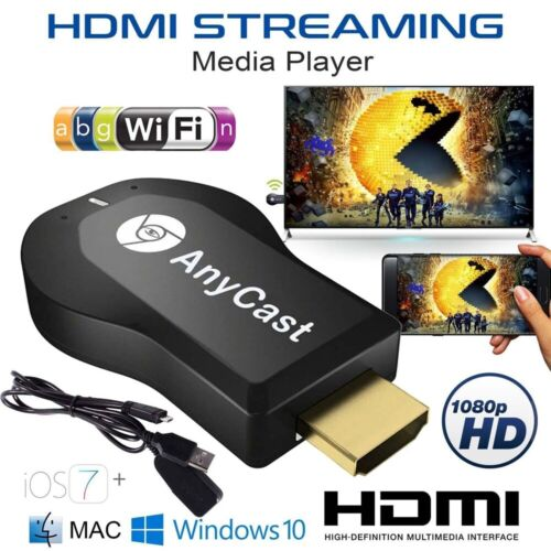 Allcast Anycast m2 plus HDMI 1080P TV Dongle Wireless Receiver Stick BoxYoutube