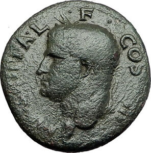 Marcus-Vipsanius-Agrippa-Augustus-General-Ancient-Roman-Coin-by-CALIGULA-i58018