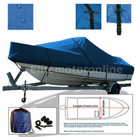 Maxum 2400sc3 2400 Cuddy Cabin I/o Trailerable All Weather Boat Cover Blue