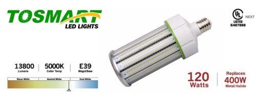 LED Corn Light 120 Watt 4000K E39 Mogul Base Indoor and Outdoor Area Light