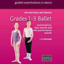 RAD Grades 1-3 Ballet Dance DVD