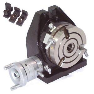 55636-Teilapparat-Rundtisch-110mm-Fraesmaschine-horizontal-vertikal-Bohrmaschine