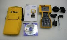 Trimble 45268 50 Tsce Data Collector Field Controller With Accessories Powers Up