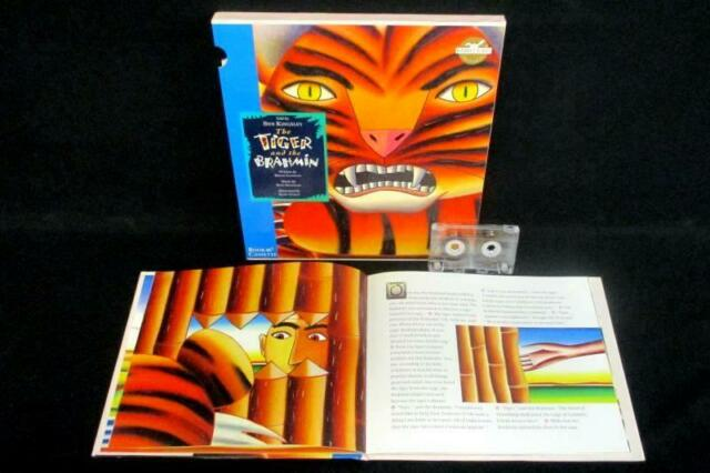 The Tiger And The Brahmin Book and Cassette Set Rabbit Ears Children's India