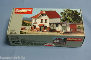 Auhagen-10-347-Railway-Station-034-Goyatz-034-Un-build-KIT-HO
