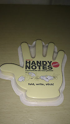 SUCK UK Handy Notes, Hand Shaped Sticky Notes