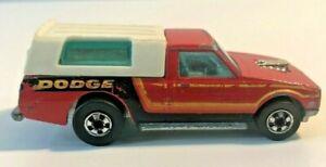 Vtg-Hot-Wheels-HW-Dodge-D-50-Red-Pickup-Truck-Hong-Kong-1133